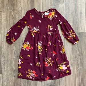 Old Navy 4T Casual Long Sleeve Dress